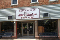 Attic Window Thrift store locations include Winchester, IN.