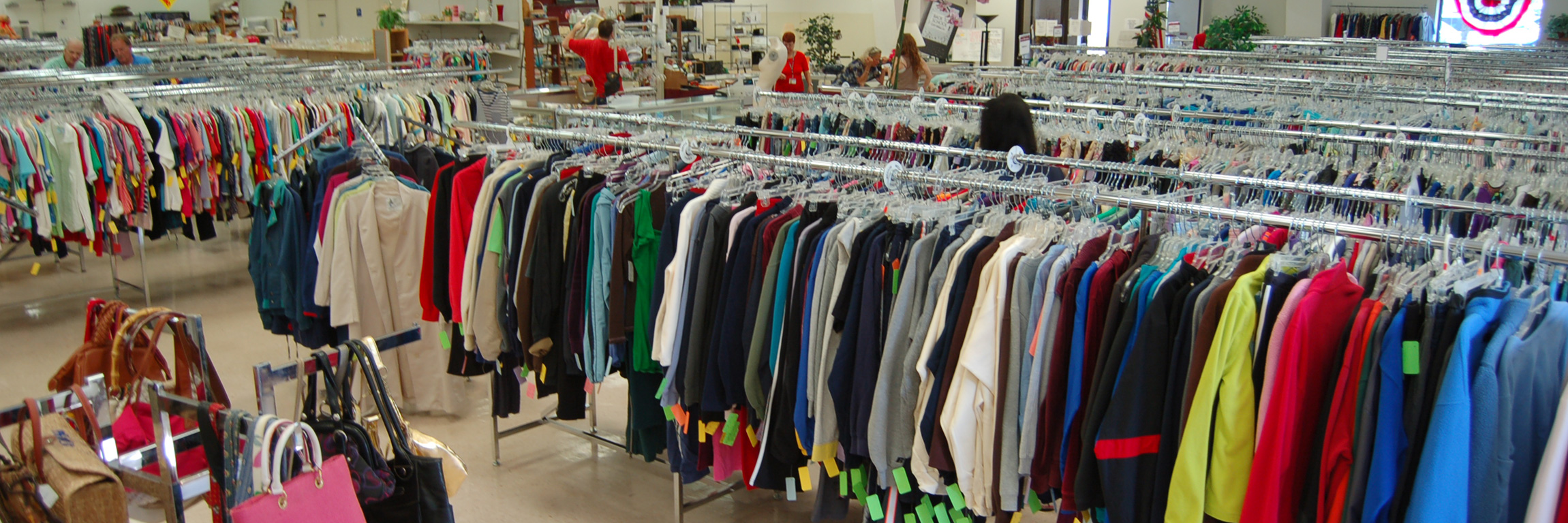 Clothes thrift stores