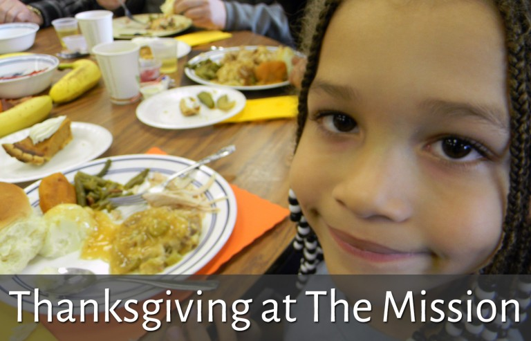 Holidays - Thanksgiving at the Mission