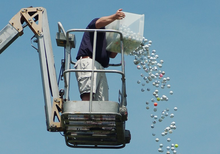 Muncie Mission Golf Outing Ball Drop