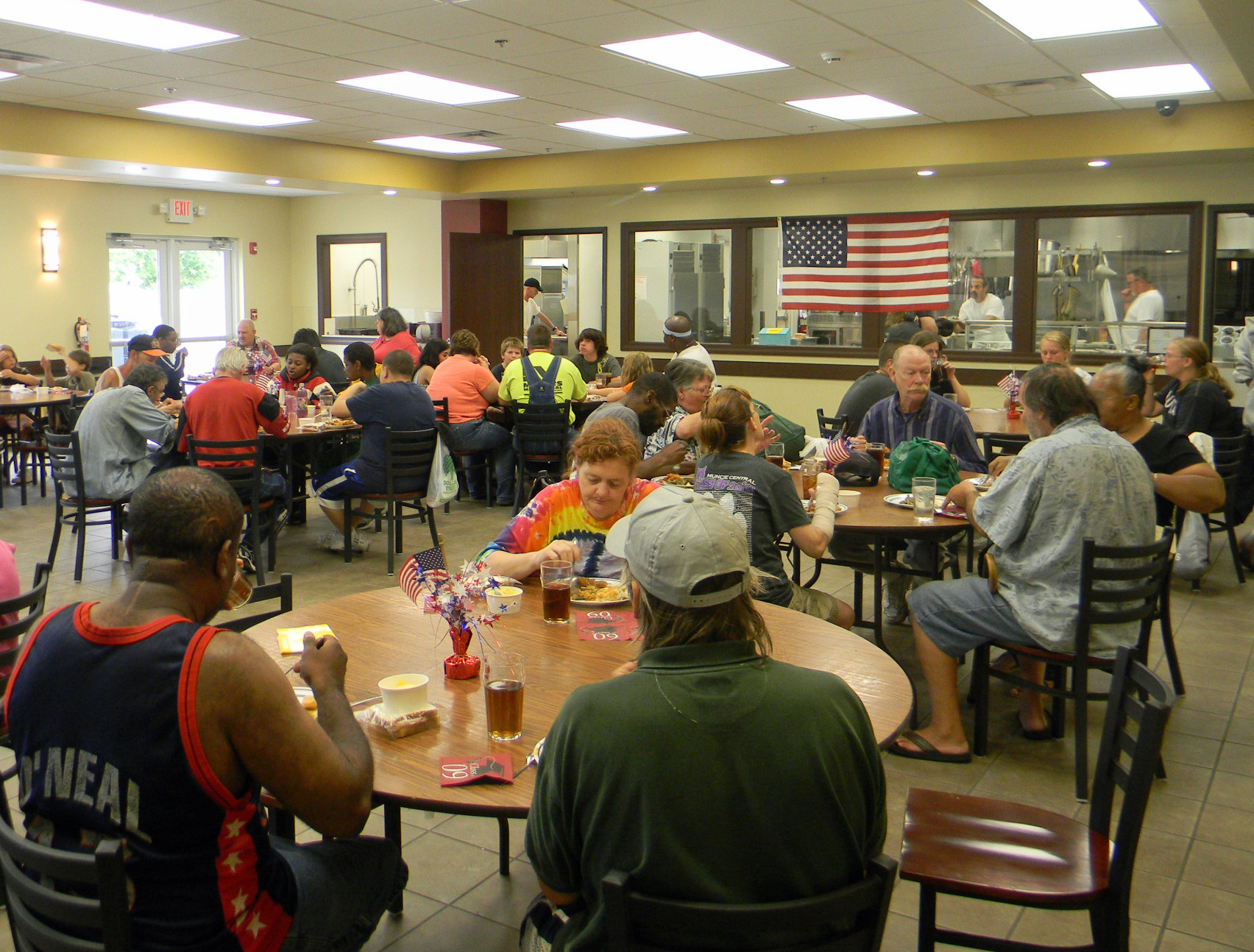 Free Community Lunch in Mission dining room