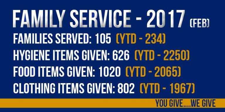 2017 Family Service Statistics
