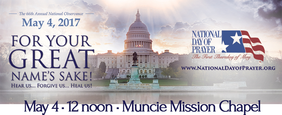 National Day of Prayer is May 4, 2017