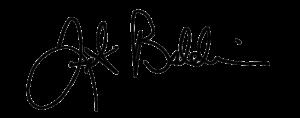 Frank Baldwin signature