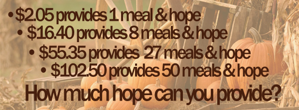 How much HOPE can you provide?