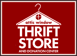 Attic Window Thrift Store logo