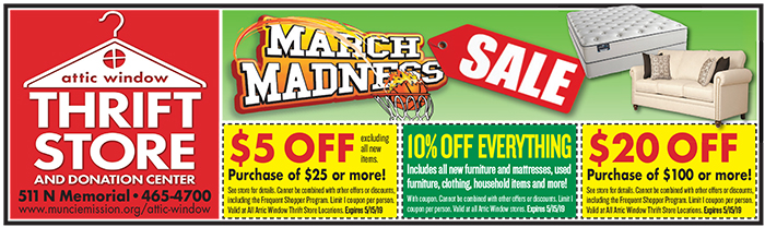 March Madness AW Coupon